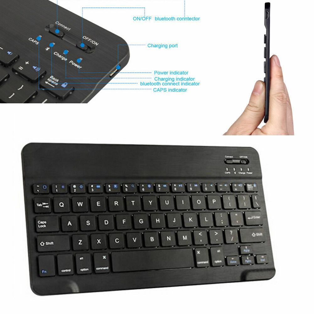 Bluetooth Keyboard For Android Samsung Tablet