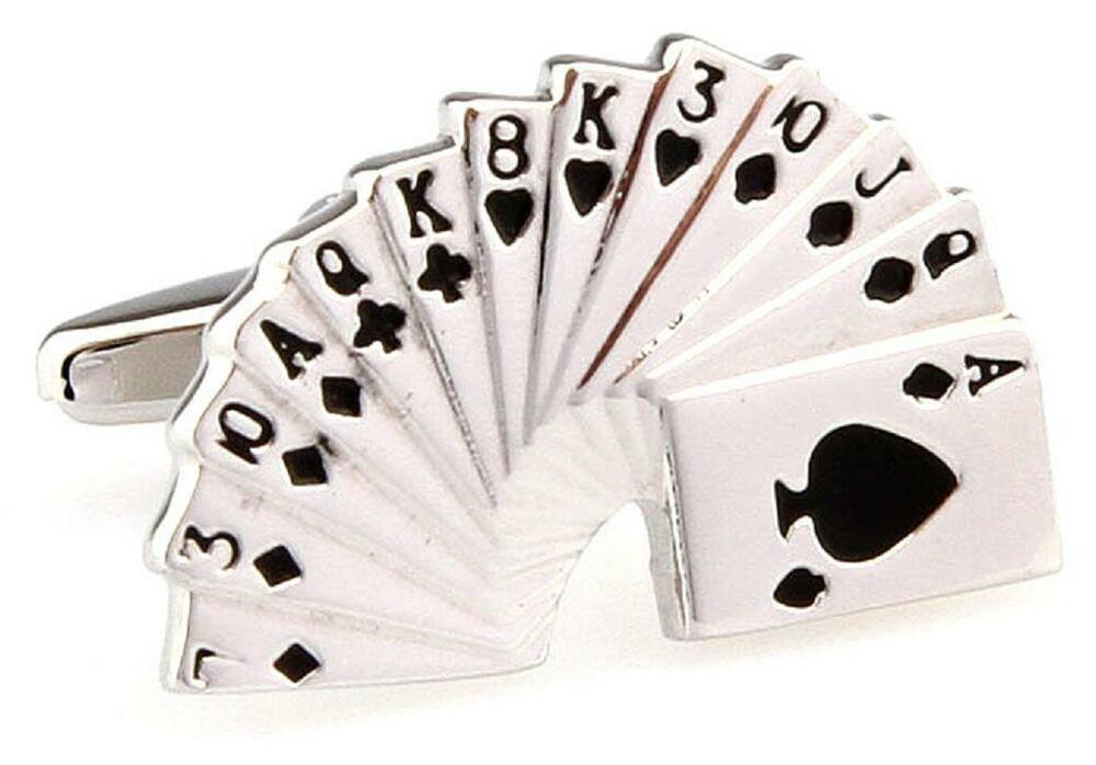 Wedding Gift List Usa : ... Cufflinks Hearts Spades Wedding Fancy Gift Box Free Ship USA eBay