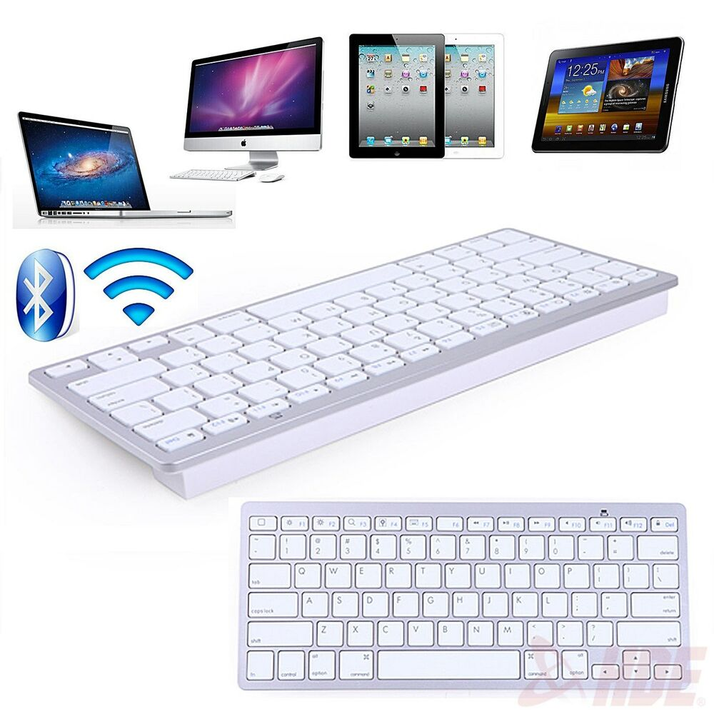 Wireless Bluetooth 3 0 Keyboard For Ipad Macbook Computer