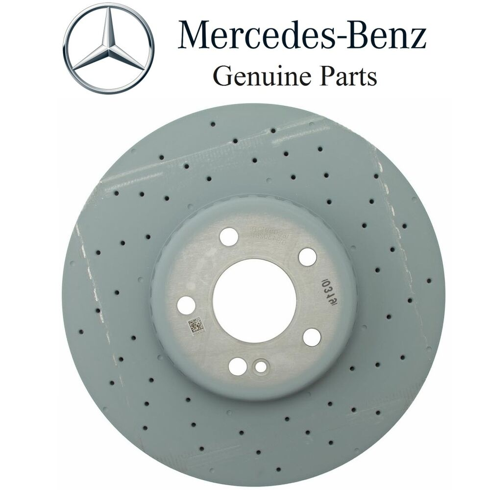 NEW Mercedes W205 C400 2015 Front Disc Brake Rotor Genuine