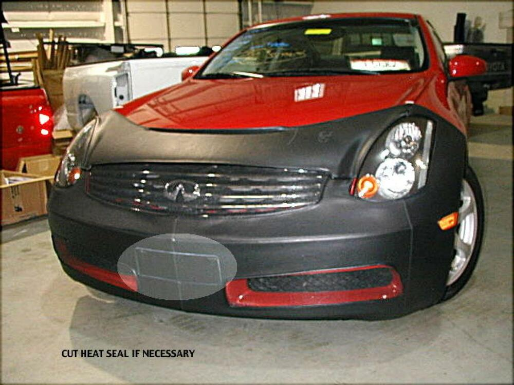 2004 Nissan 350Z Coupe >> Lebra Front End Mask Cover Bra Fits 2003-2006 INFINITI G35 ...