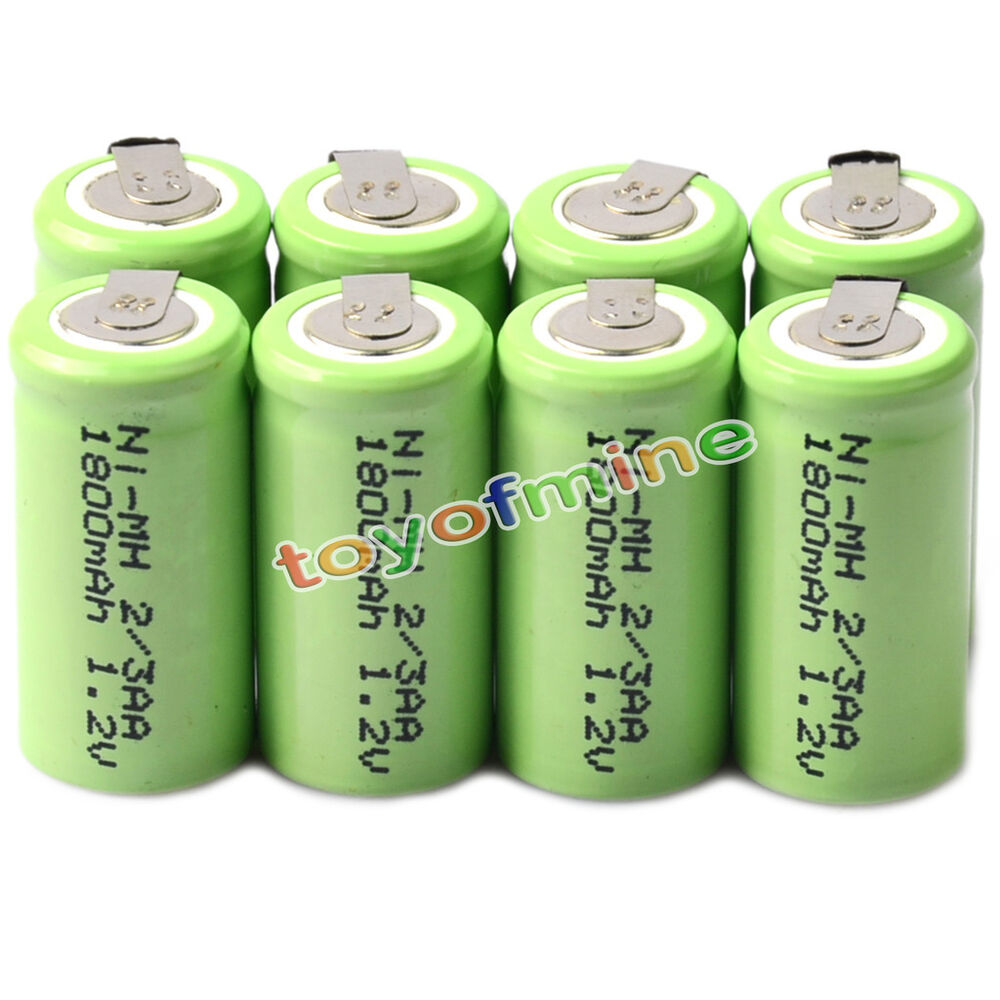 8x ni mh 1 2v 2 3aa 1800mah rechargeable battery ni mh batteries for phone toy ebay. Black Bedroom Furniture Sets. Home Design Ideas