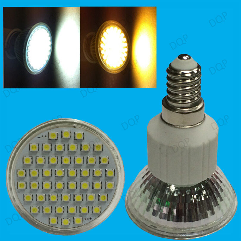 Led Spotlight Light Bulbs: 4x 5.6W E14 SES Epistar LED Spot Light Bulbs, R50