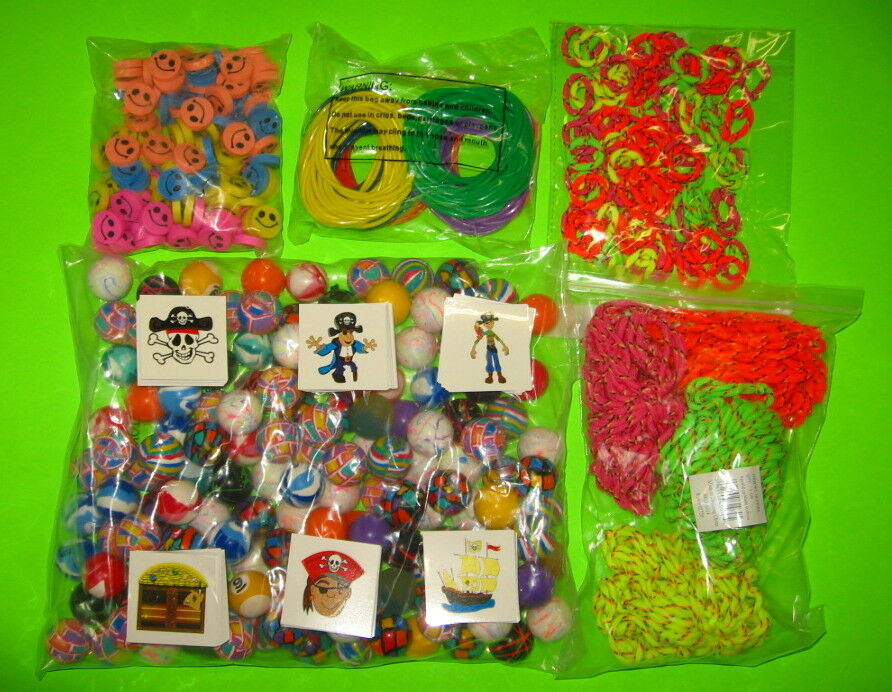 Bulk Prize Toys : Toys gross superballs jelly bracelets pirate tattoos