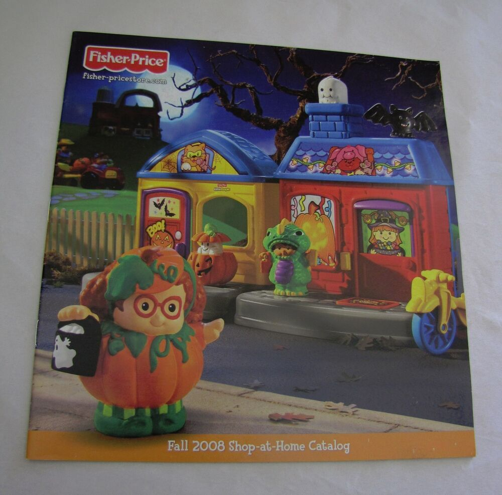 Fisher Price Little People FALL 2008 CATALOG Shop-at-Home