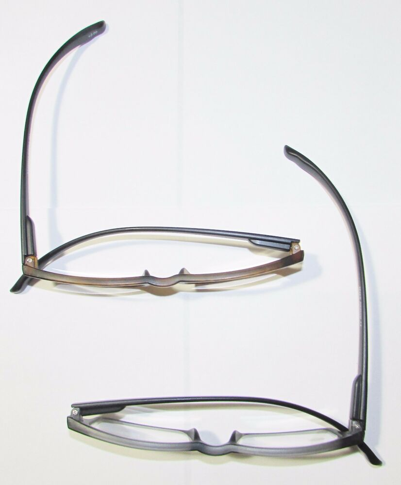 1 Extra long temples READING GLASSES Spring frames Black ...