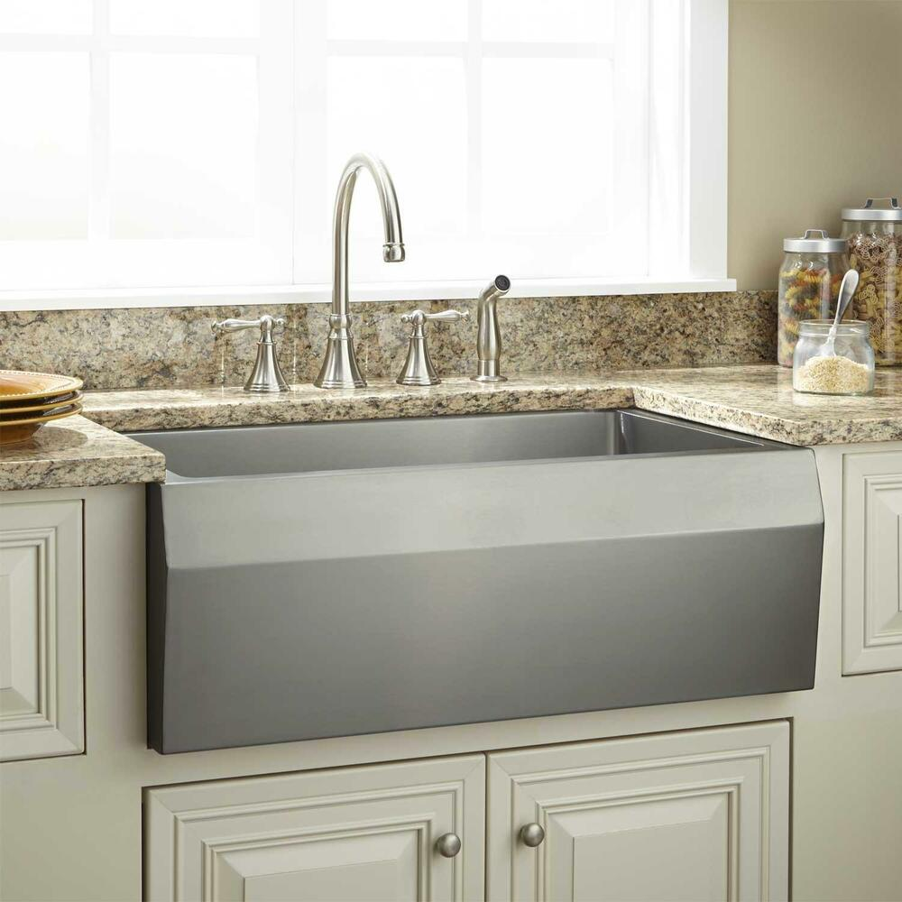 Signature Hardware 30 Quot Optimum Stainless Steel Farmhouse
