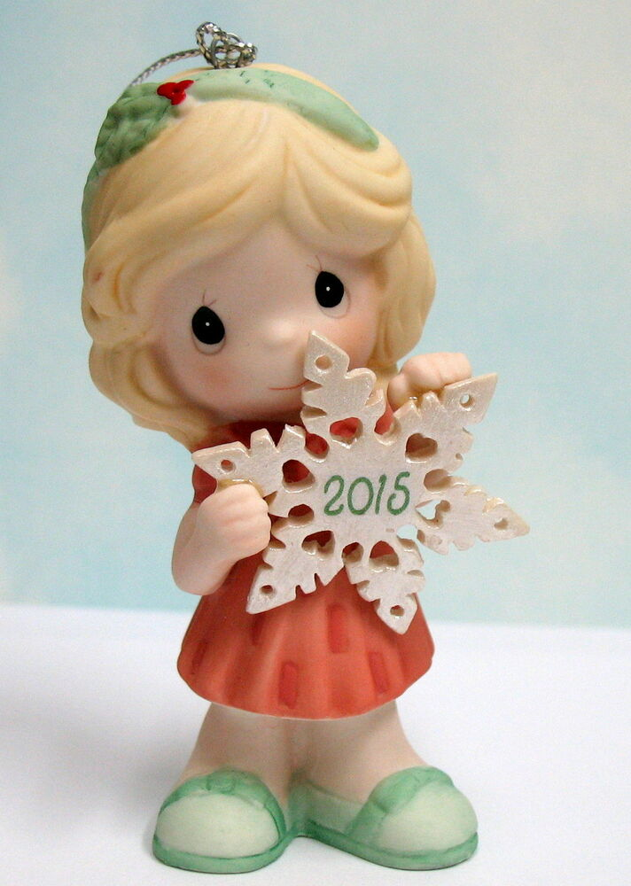 2015 PRECIOUS MOMENTS DATED ORNAMENT YOU MAKE THE SEASON ...