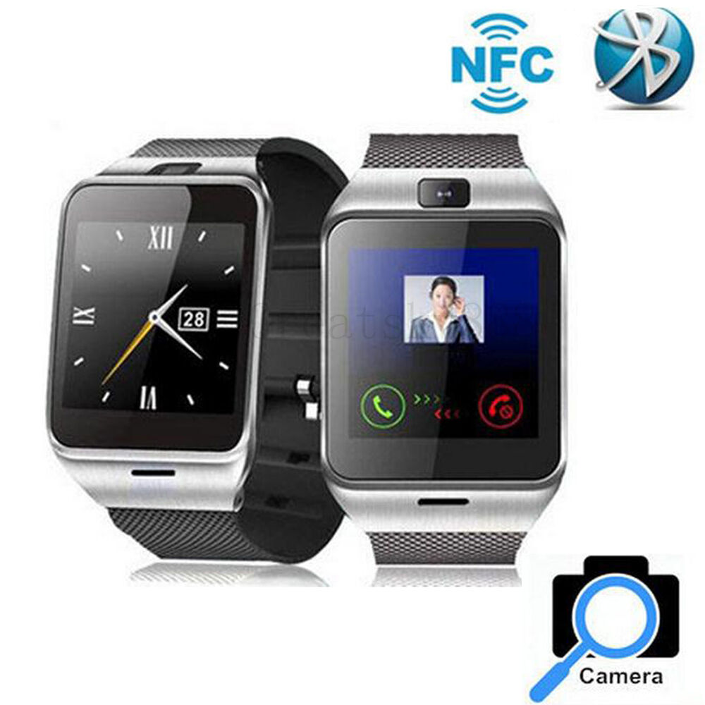 Bluetooth Smart Watch Wrist For Android Samsung Galaxy S6 ...