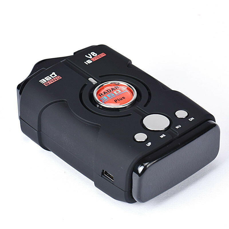 360 degree detection voice alert car anti radar detector for car speed limited ebay. Black Bedroom Furniture Sets. Home Design Ideas