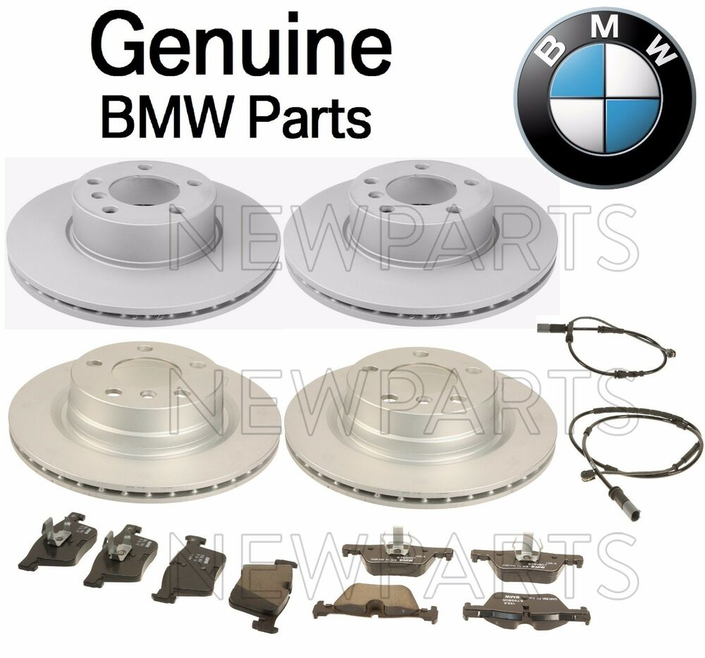New Bmw F30 320i 2012 2014 Genuine Front And Rear Brake