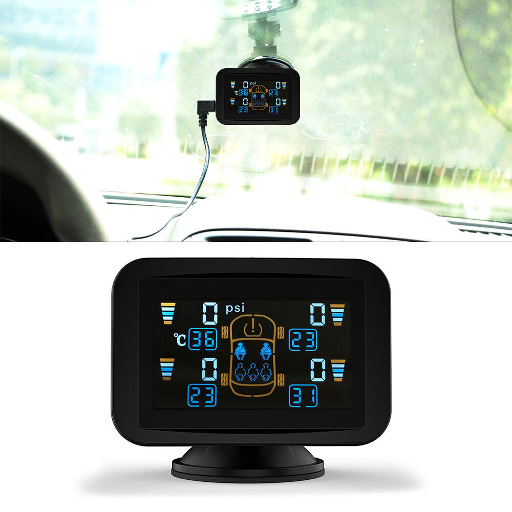Tpms Tyre Pressure Monitoring Intelligent System 4