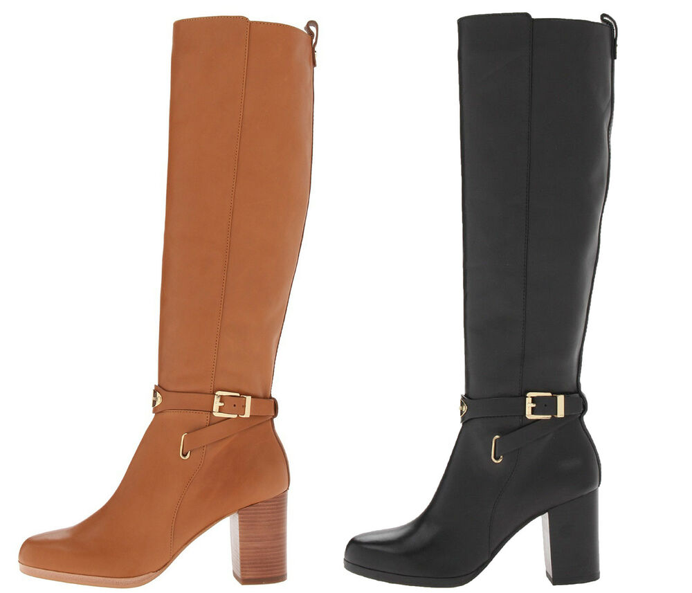 Arley tall pull on casual knee high side zip fashion boots ebay