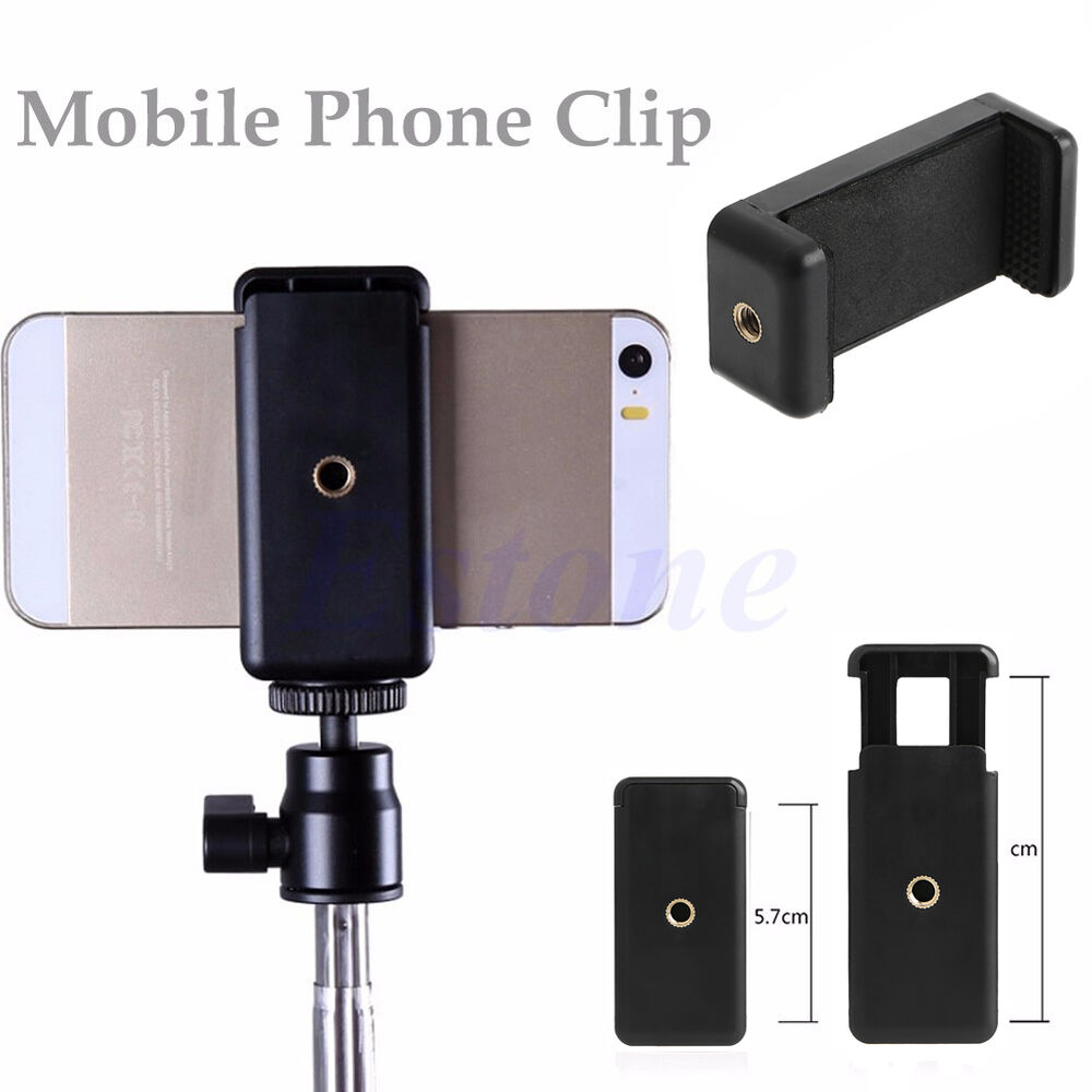 360 Degree Rotation Tripod Mount Holder Cell Phone Stand