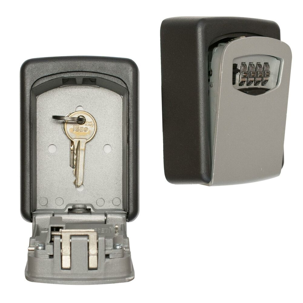 Saw Wall Mount Box : Outdoor key safe for house and spare car keys strong