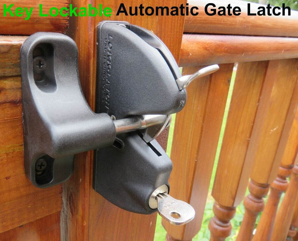 D Amp D Key Locking Automatic Gate Latch Timber Or Metal Gates