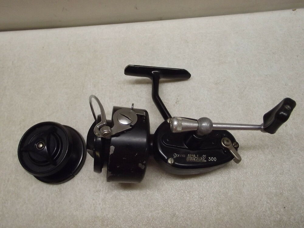Vintage mitchell 300 reel with extra spool ebay for Mitchell 300 fishing reel