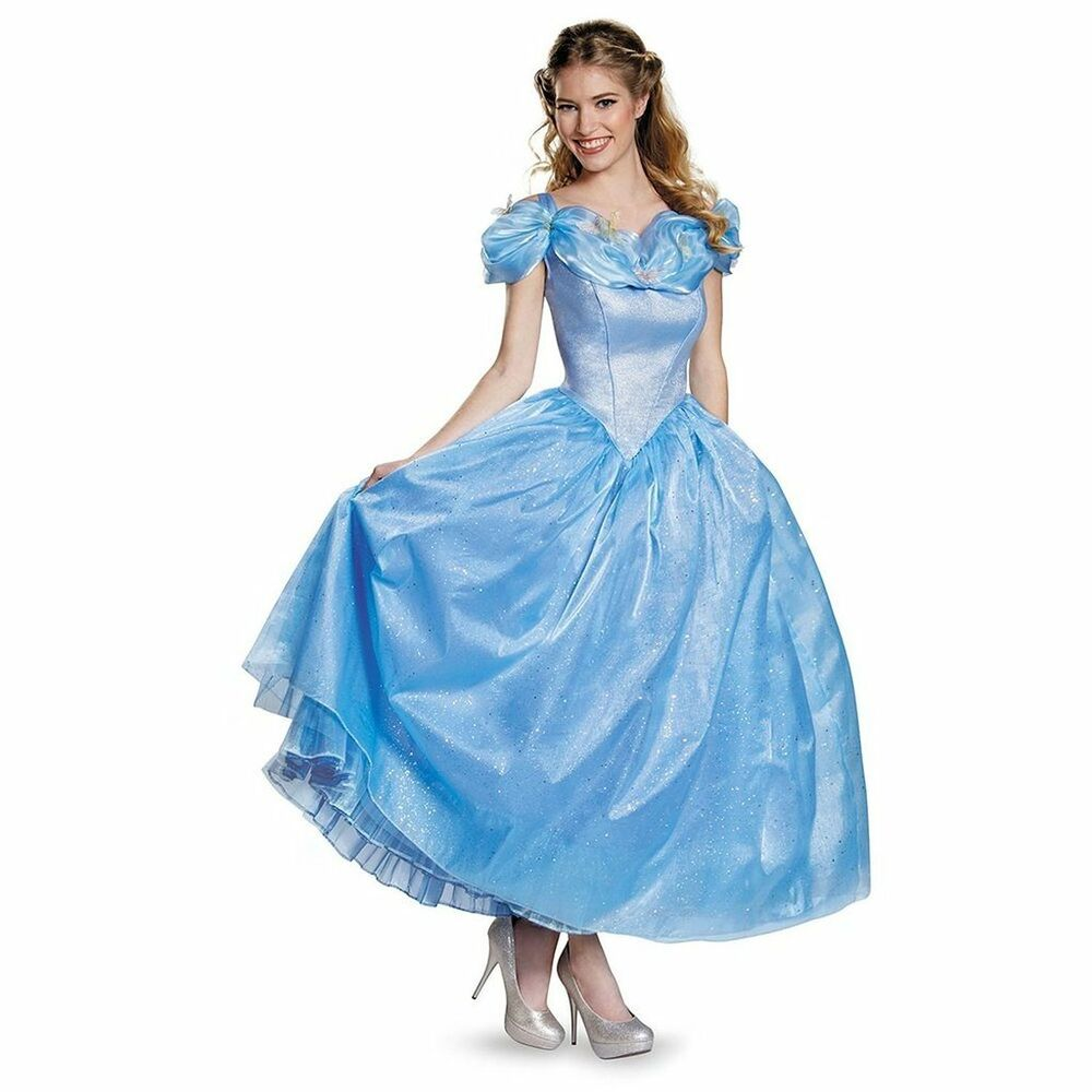 Womens Adult Prestige CINDERELLA Walt Disney Princess ...