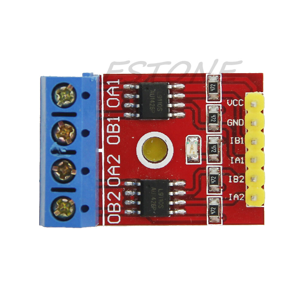 Dual dc stepper motor driver controller module pwm h for Servo motor with controller