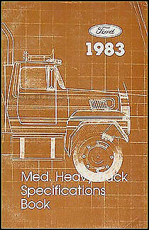 1983 Ford Truck Service Specificationd Manual F600 F700