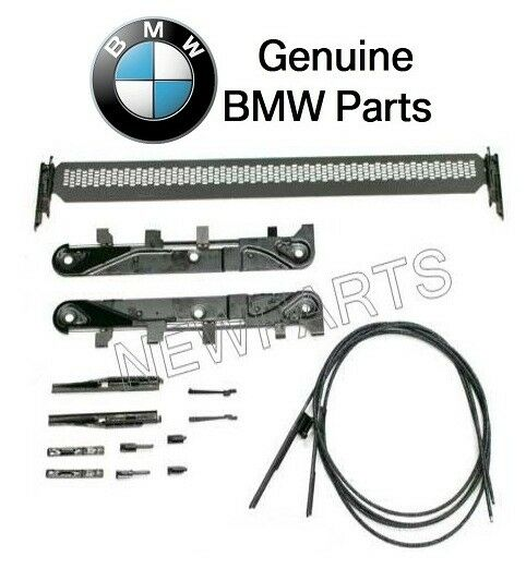 For BMW E83 X3 04-10 Front & Rear Sunroof Repair Kit For