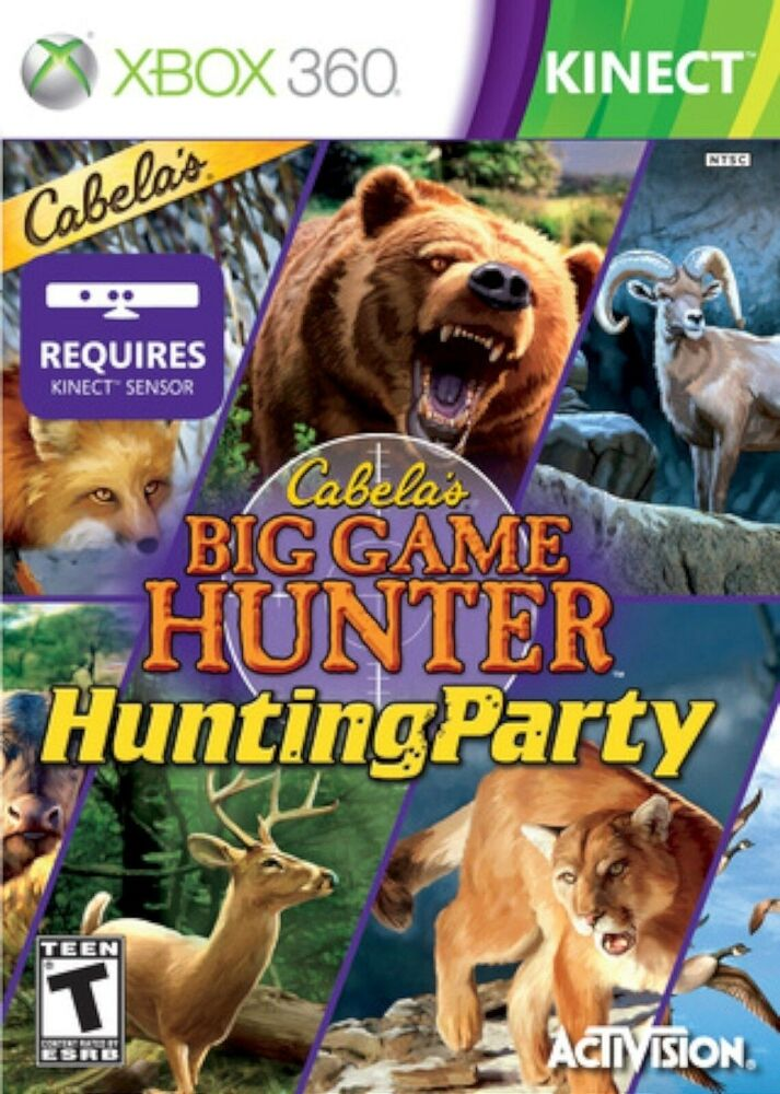 Hunting Games For Xbox 1 : New sealed cabela s big game hunter hunting party xbox