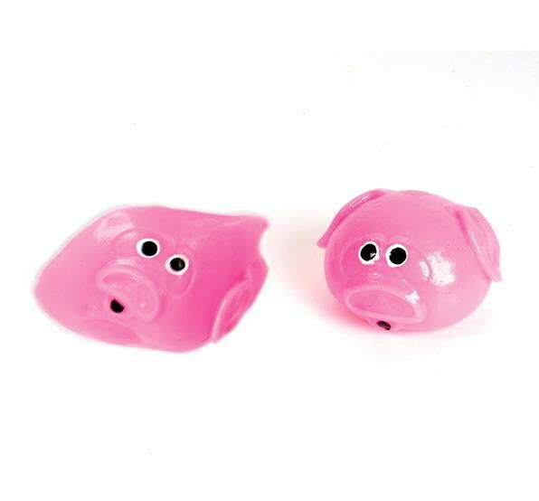 Splat Ball Pig Squishy Splats Toy Stress Reliever Goody