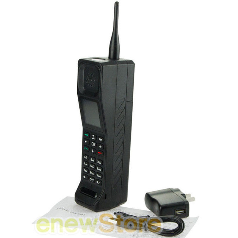Black new classic old vintage brick cell phone retro for Billige retro mobel