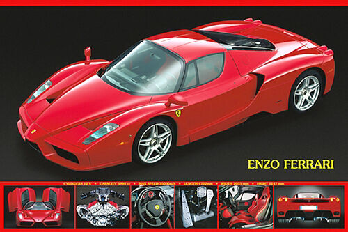 Cool Sports Cars Ferrari: Ferrari Enzo (2002) Autophile Profile Cool Sports Car Wall