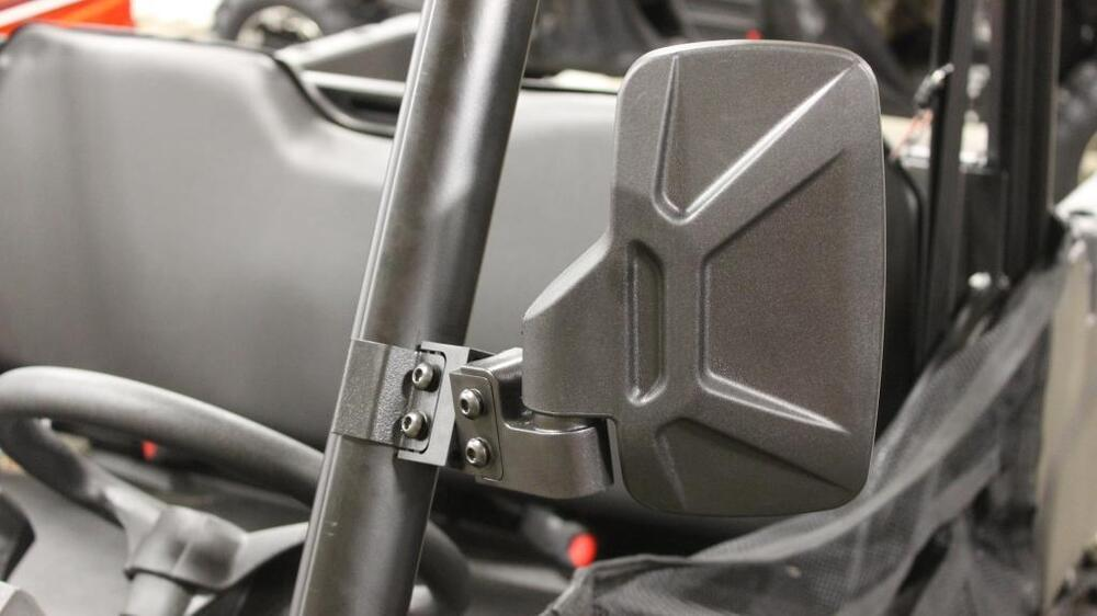Snowmobile Side Mirrors : Polaris ranger fullsize  bad dawg breakaway