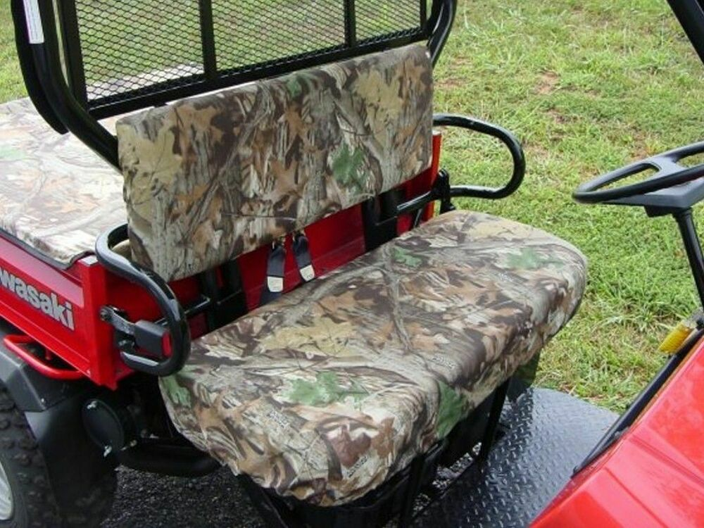 Kawasaki Mule 550 Utv Custom Made Bench Seat Covers