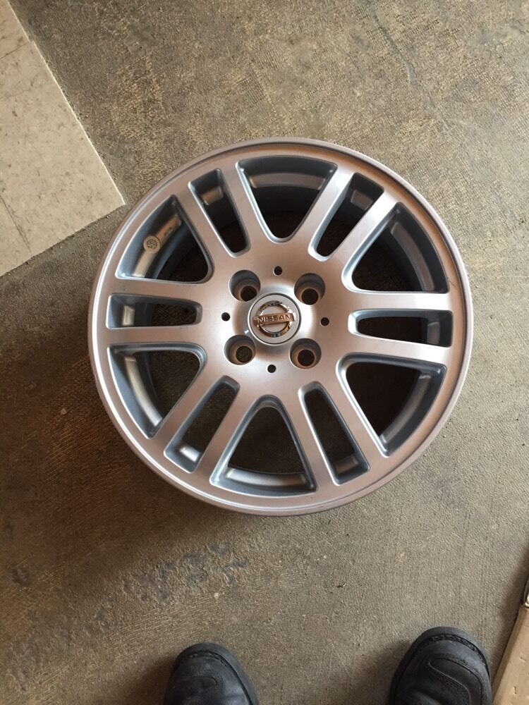 62568 15 Quot Alloy Wheel For Nissan Cube And Versa 4x100 Bolt