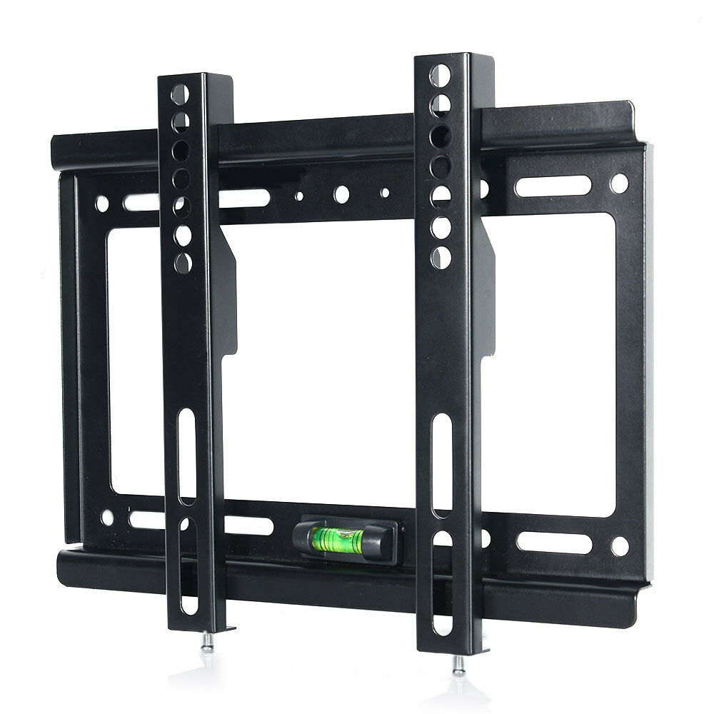 flat tv wall mount bracket lcd led screen 17 19 22 23 24 26 27 32 37 40 42 inch ebay. Black Bedroom Furniture Sets. Home Design Ideas