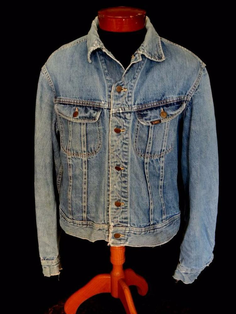 how to clean vintage denim jacket
