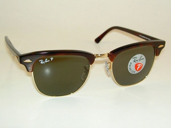 New Ray Ban Sunglasses Clubmaster Tortoise Frame Rb 3016