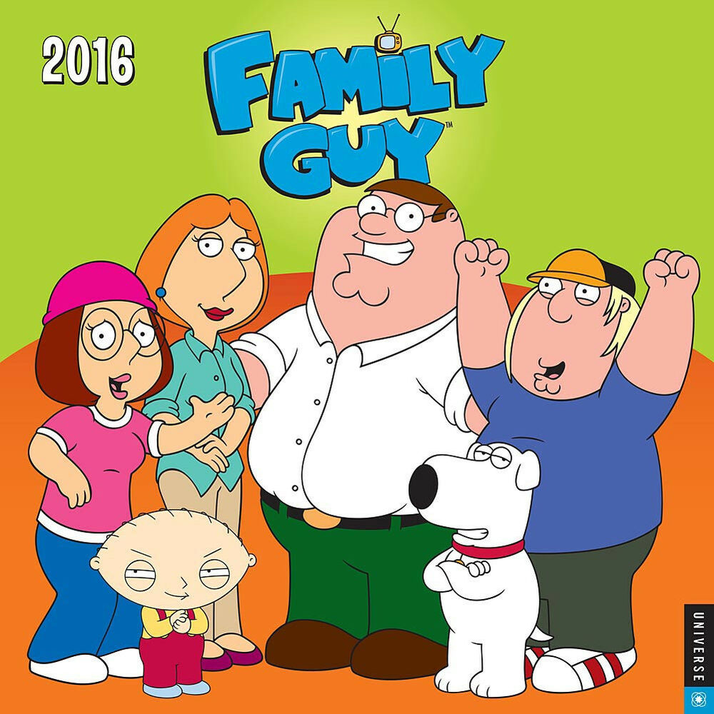 Calendar Art Peter Rolfe : The family guy tv series main cast and quotes art