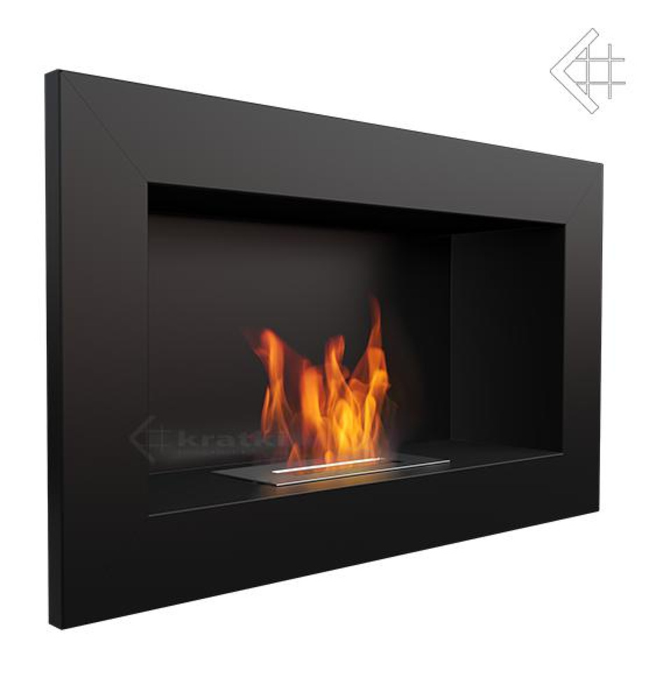 bio ethanol kamin golf schwarz wandkamin deko bioethanol wand design kamin ebay. Black Bedroom Furniture Sets. Home Design Ideas