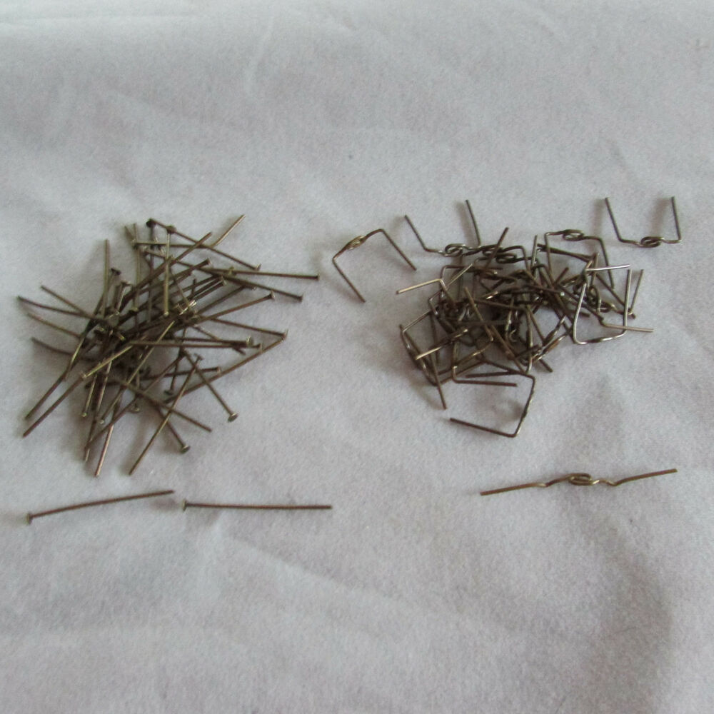 Crystal Chandelier Accessories: 100 Antique Style Connector Parts- For Chandelier Crystals