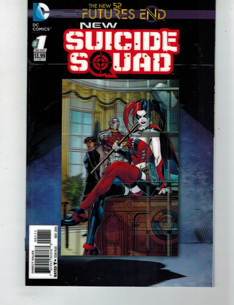 new suicide squad futures end 1 3d motion variant cover