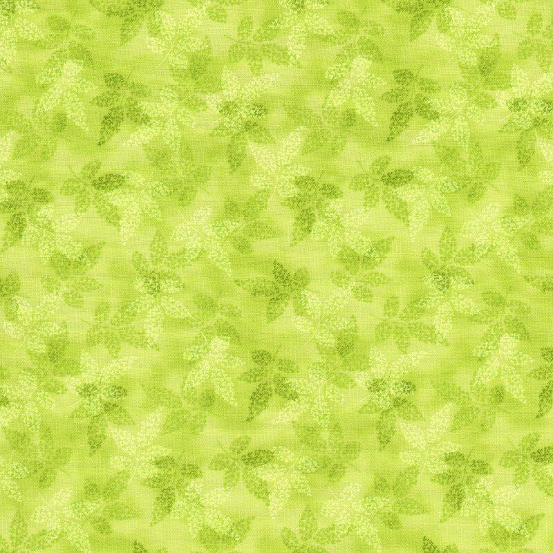 Damask fabric ebay - Fusions Collection Garden Srk 14856 43 Leaf Cotton Fabric