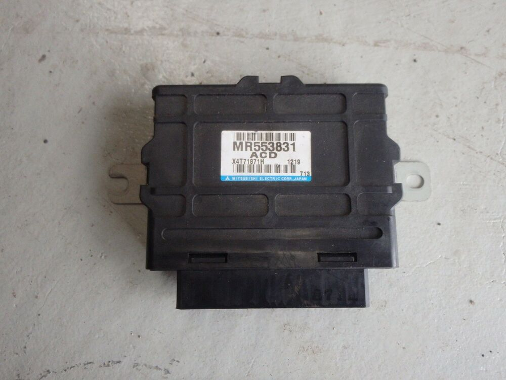 Mitsubishi Lancer Evolution Evo 7 Vii Ct9a Acd Ecu Control