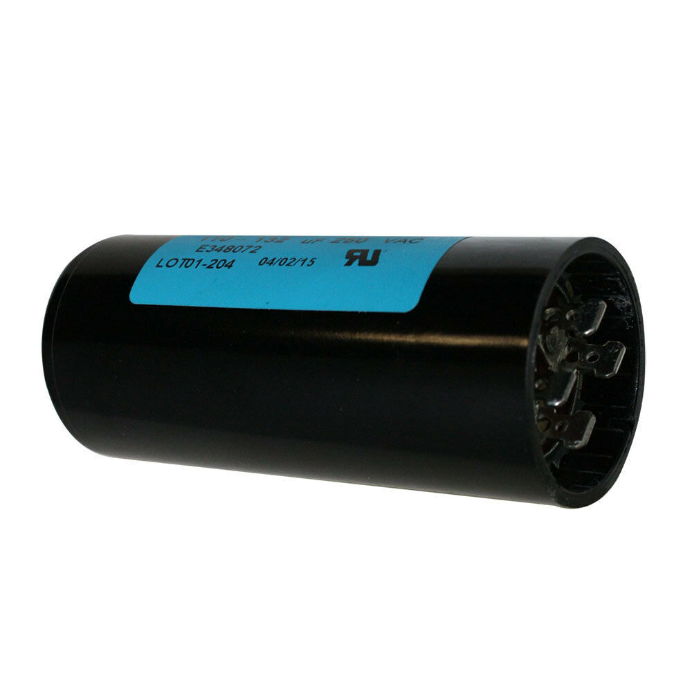 Electric motor starting capacitor 120mf 250 volt 120 for 120 volt ac motor