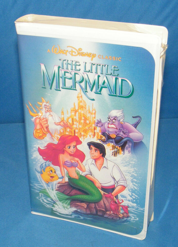 the little mermaid disney vhs black diamond collectors special extremely rare ebay. Black Bedroom Furniture Sets. Home Design Ideas