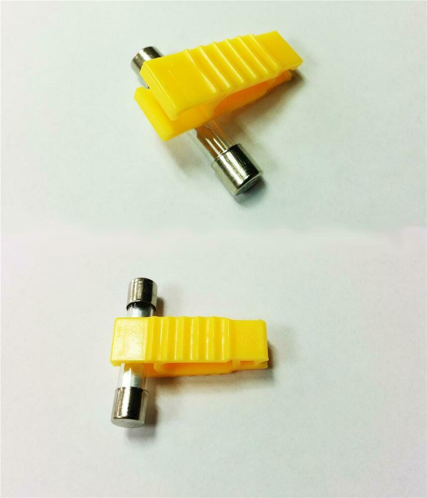Car electrical spare glass fuse puller for box ebay