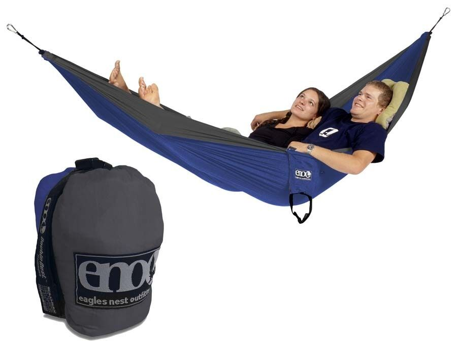 With room for two, the Eagles Nest Outfitters DoubleNest Hammock is your own portable luxury lounger for the backyard, the beach, or the backcountry. The highly packable design stuffs down to the size of a softball, and the breathable woven nylon fabric supports up to pounds.5/5().