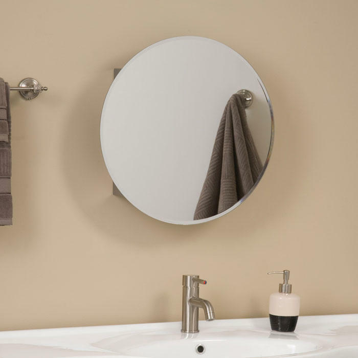 Stainless Steel Mirrored Bathroom Cabinets