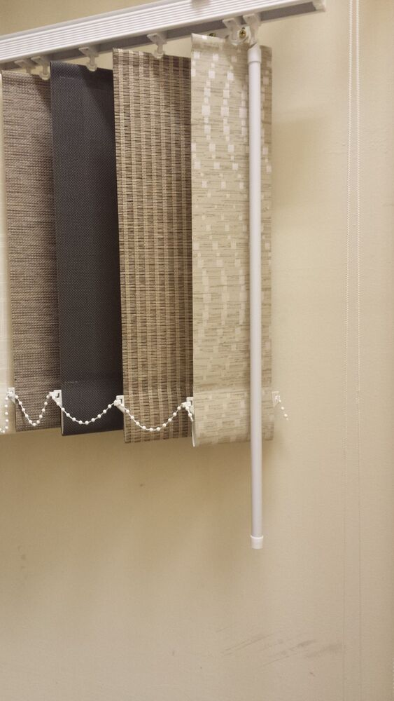Vertical blind headrail track made to measure with