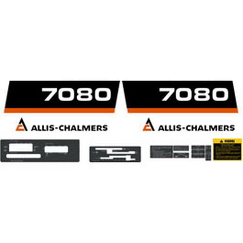 Allis Chalmers Decal Kits : New allis chalmers tractor complete decal set