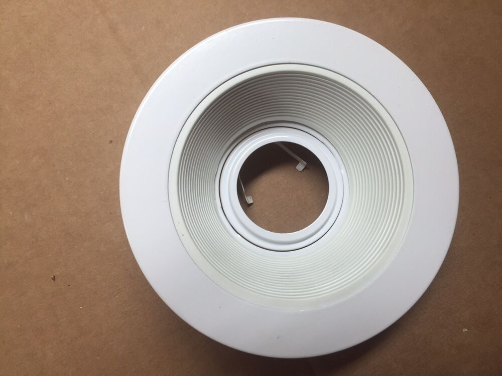 Recessed Lighting Elco : Elco used el w quot white low voltage baffle trim for