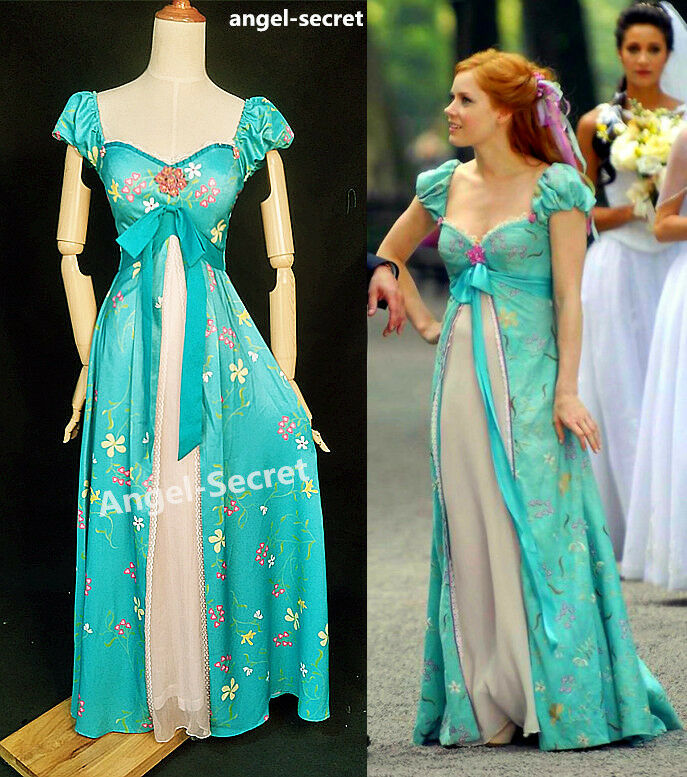 Disney Enchanted Nursery Cinderella Baby Doll In Blue: J230 Women Curtain Dress Giselle Cosplay From Enchanted